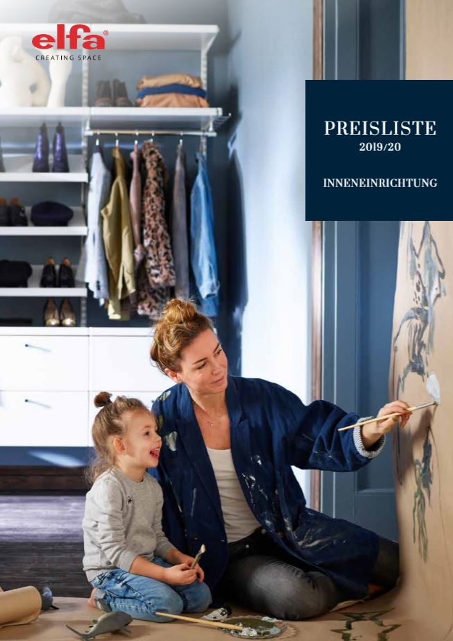 elfa Preisliste download